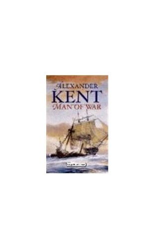 Man of War (Charnwood Library) By Alexander Kent