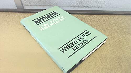 Arthritis By William W. Fox
