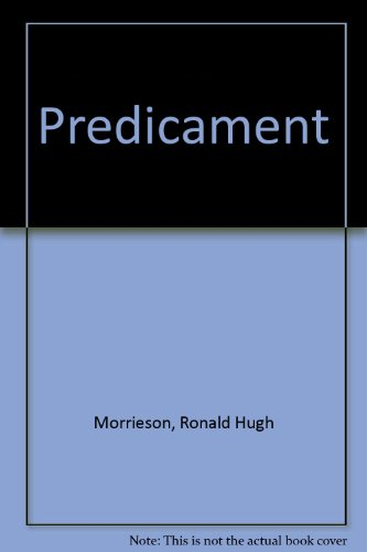 Predicament by Ronald Hugh Morrieson
