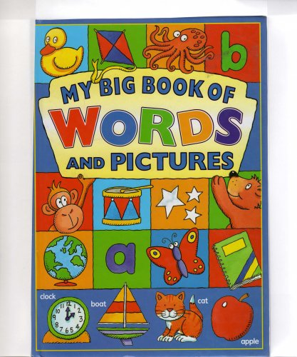 my big book of words and pictures By colin clark