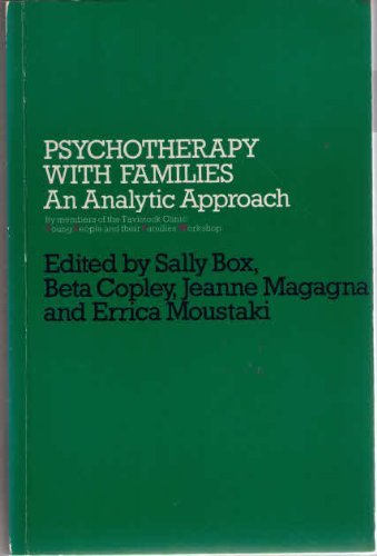 Psychotherapy with Families By Edited by Sally Box