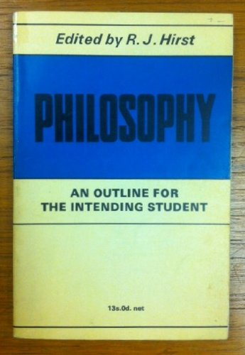 Philosophy By R. J. Hirst