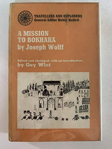 Mission to Bokhara By Joseph Wolff