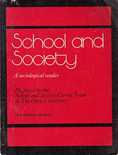 School and Society By Ben Cosin