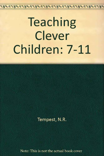 Teaching Clever Children By N.R. Tempest