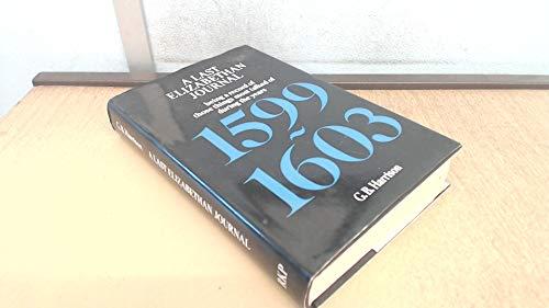 Last Elizabethan Journal By George B. Harrison