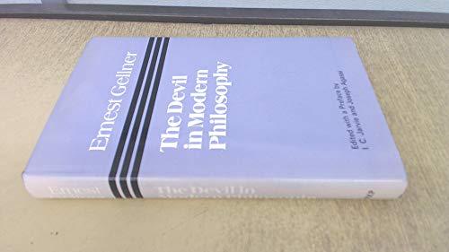 Devil in Modern Philosophy By Ernest Gellner