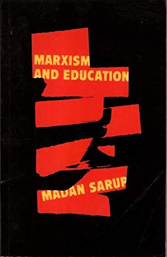 Marxism and Education By Madan Sarup
