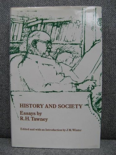 History and Society By R. H. Tawney