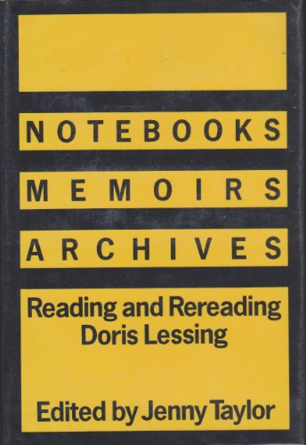 Notebooks/Memoirs/Archives By Edited by Jenny Taylor