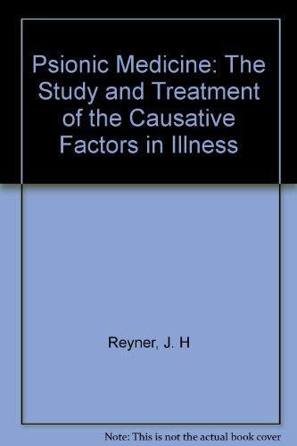Psionic Medicine By J. H Reyner