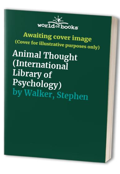 Animal Thought By Stephen Walker