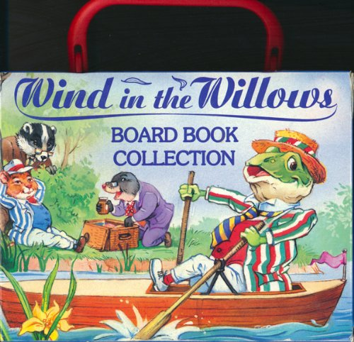 """""""Wind in the Willows"""" Board Book Collection By Kenneth Grahame"""