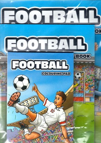 Football Colouring and Activity Book By Unknown
