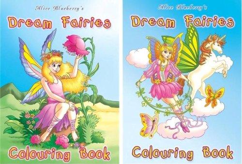 Alice Blueberry'S Dream Fairy Colouring Book (A726) 12 per pack