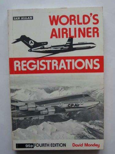 World's Airliner Registrations By Gordon Swanborough