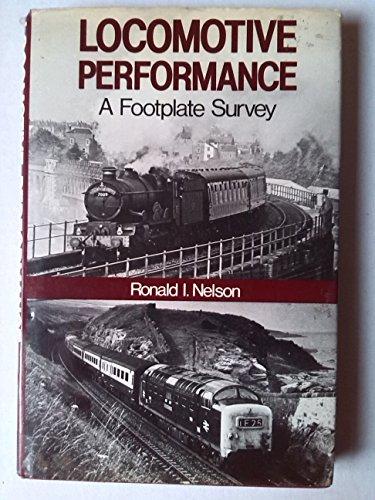 Locomotive Performance By Ronald I. Nelson