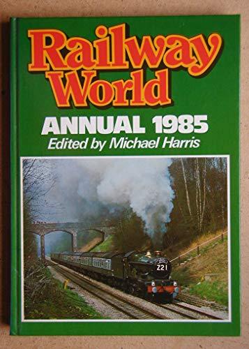 """Railway World"" Annual By Volume editor Michael Harris"