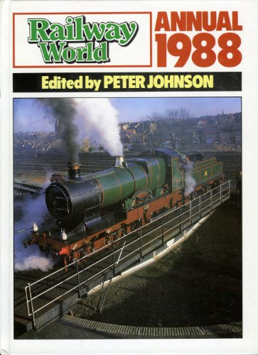 """Railway World"" Annual By Volume editor Peter Johnson"