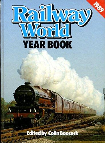 """Railway World"" Year Book By Volume editor C.P. Boocock"
