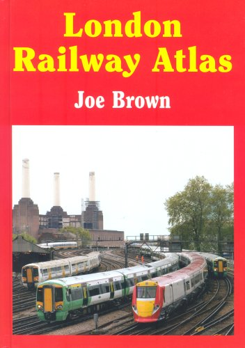 London Railway Atlas By J. Brown