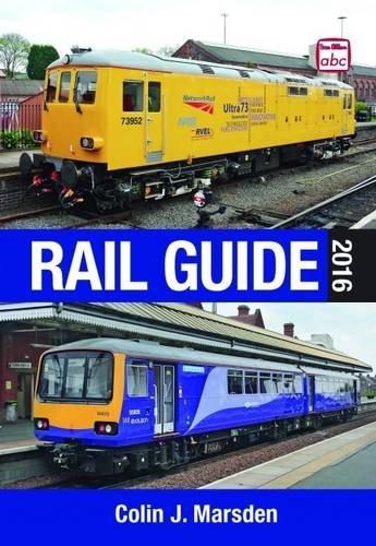 ABC Rail Guide 2016 By Colin J. Marsden