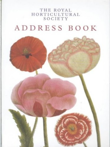 The Royal Horticultural Society Address Book 2003 By Brent Elliott