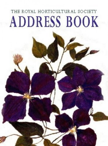 Royal Horticultural Society Pocket Address Book 2004 by Brent Elliott