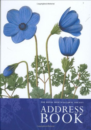 The Royal Horticultural Society Address Book By Brent Elliott