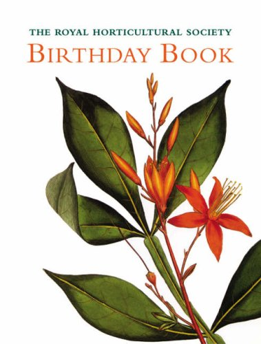 The RHS Birthday Book Commentaries by Brent Elliott