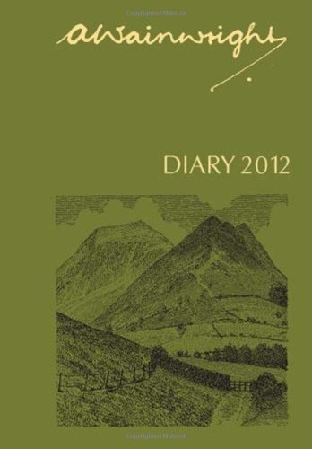 A. Wainwright Pocket Diary 2012 By Illustrated by Alfred Wainwright