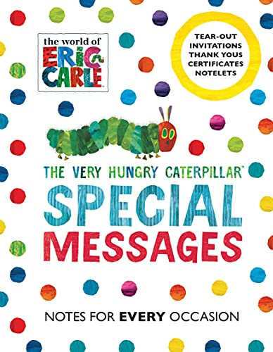 The Very Hungry Caterpillar: Special Messages Notes for Every Occasion von Eric Carle