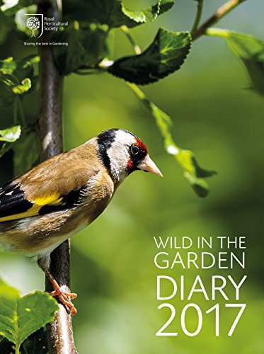 RHS Wild in the Garden Diary 2017: Sharing the best in Gardening (Diaries 2017) By Royal Horticultural Society