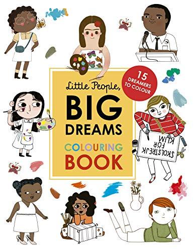 Little People, Big Dreams Colouring Book By Maria Isabel Sanchez Vegara