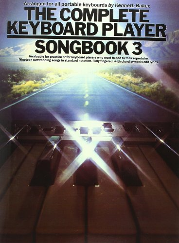 The Complete Keyboard Player: Songbook 3: 3 by Lord Kenneth Baker