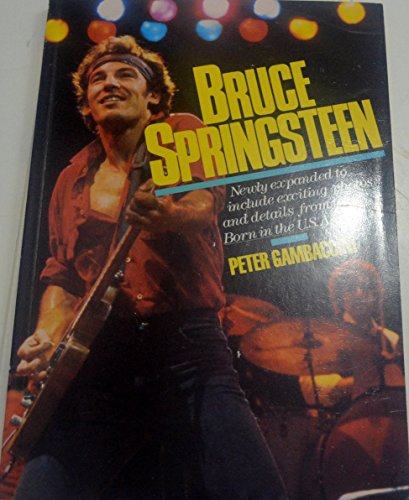 Bruce Springsteen By Peter Gambaccini