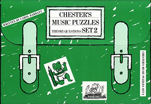 Chester s Music Puzzles - Set 2 By Carol (Auth Barratt