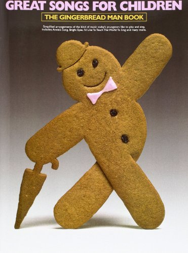 Great Songs for Children-the Gingerbread Man Book By Divers Auteurs