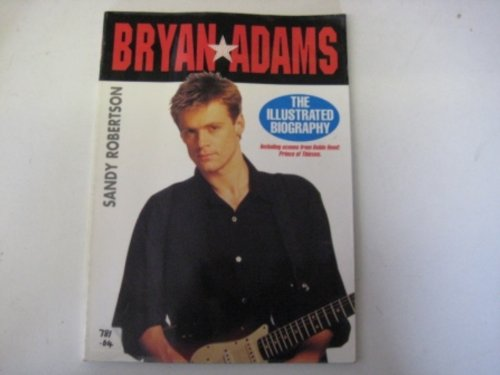 Bryan Adams by Robertson, Sandy Paperback Book The Fast Free Shipping