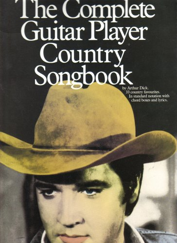 the complete guitar player country 0 item sub head songbook by arthur dick used very. Black Bedroom Furniture Sets. Home Design Ideas