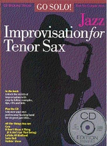Jazz Improvisation for Tenor Sax By various