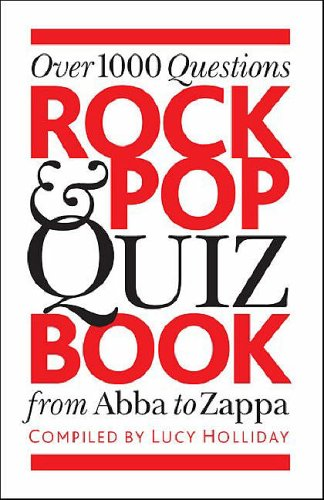 Rock and Pop Quiz Book by Lucy Holliday