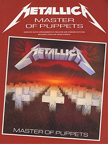 Metallica: Master of Puppets (Guitar) by