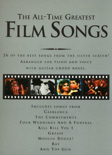 The All-Time Greatest Film Songs By Pbk