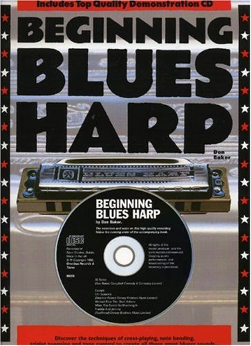 Beginning Blues Harp (English Version) By Don Baker