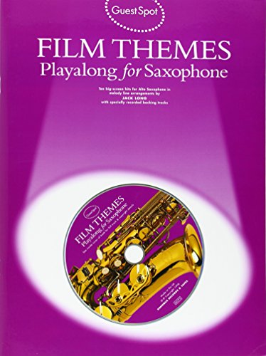 Guest Spot: Film Themes Playalong for Saxophone by Jack Long