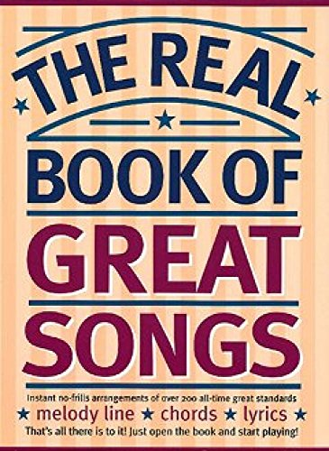 The Real Book Of Great Songs By Jack Long