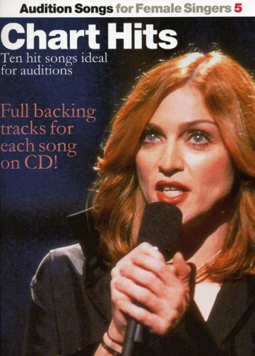 Audition Songs For Female Singers 5 By Various