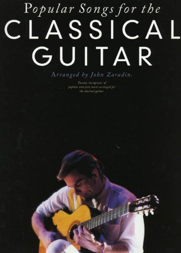Popular Songs For The Classical Guitar By Various
