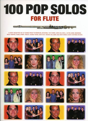 100 Pop Solos for Flute by Jack Long